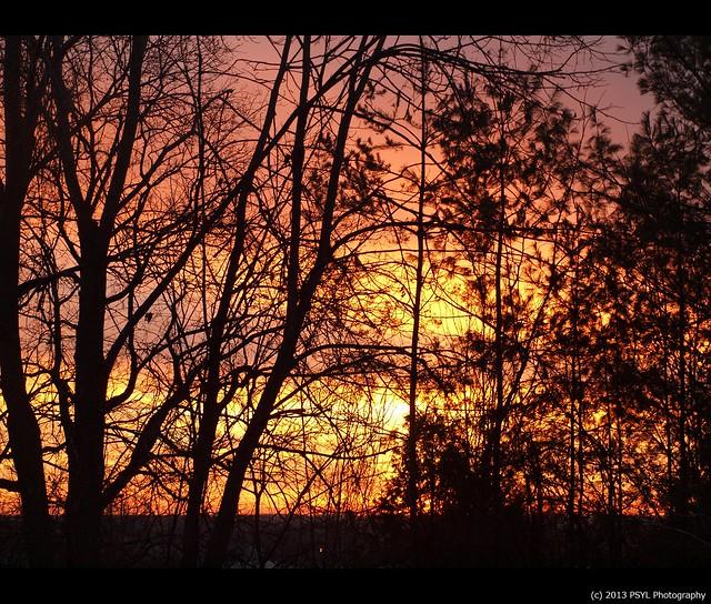 Last sunrise in Peterborough