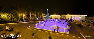 Xtraice ice rink in Guayaquil, Ecuador