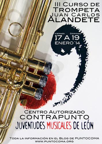 III CURSO DE TROMPETA CON JUAN CARLOS ALANDETE - 17 A 19 ENERO´14 by juanluisgx