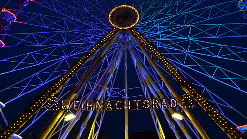 Christmas Wheel - Weihnachtsrad by Ginas Pics