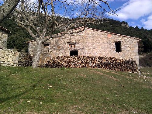 El Serradell_wood pile
