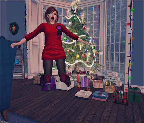 Day 309 - Jumping For Christmas Joy!
