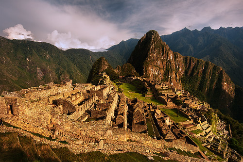 city morning travel cloud peru machu picchu inca cuzco sunrise landscape lost cusco ruin culture