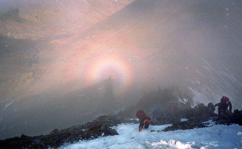 Swirral Edge and Brocken Spectre