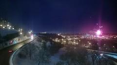 Fireworks by the Muttart Conservatory  #yeg