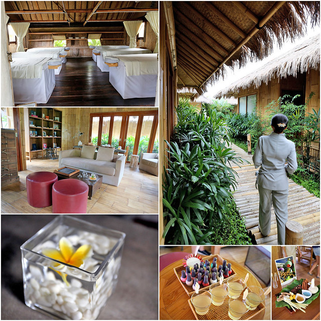 The Montigo Spa uses sustainable materials and offers treatments using ancient Balinese, Javanese and other Asian techniques