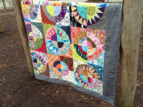 Finally finished my NY Beauty Quilt :-)