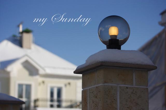 my Sunday