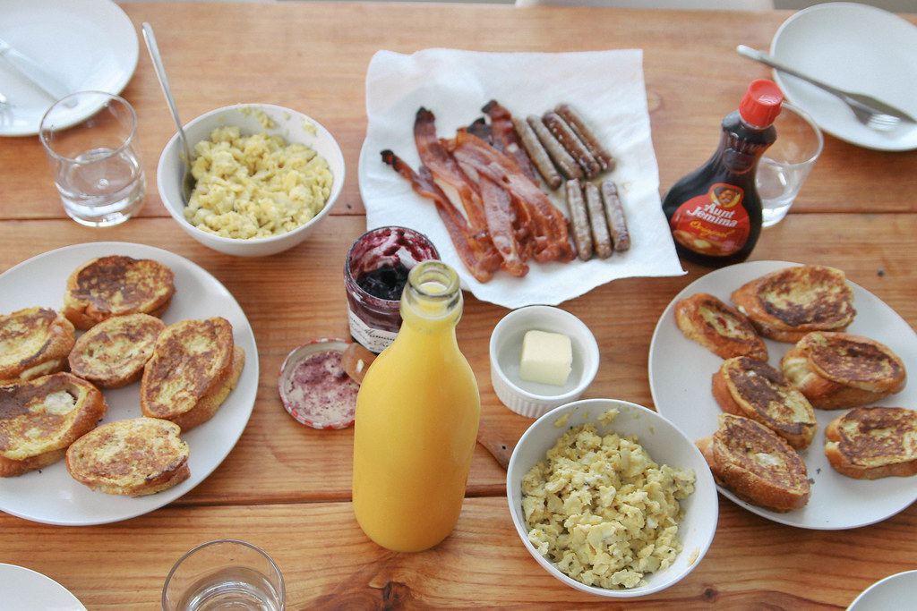 Stuffed french toast breakfasta