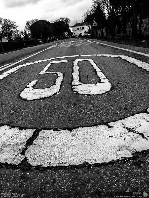 texturas en el asfalto