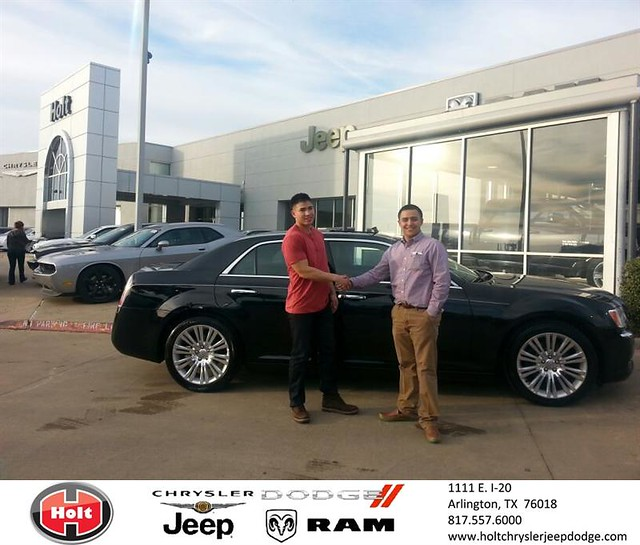 Thank You To Tien Do On Your New 2013 #Chrysler #300 From