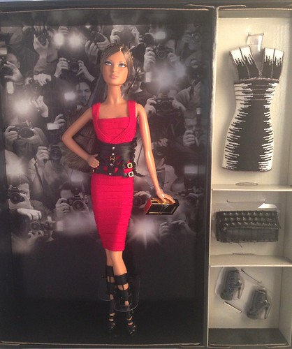 Herve Leger Barbie by pattidolls