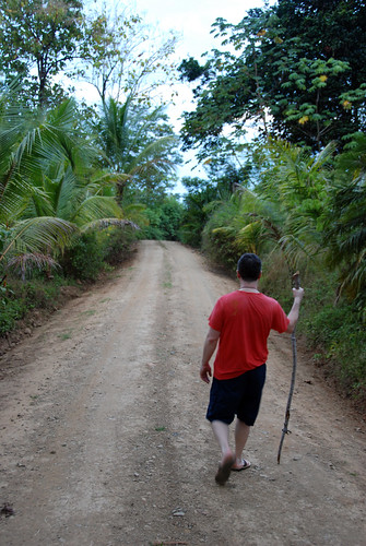 Early morning walk, near Dominical