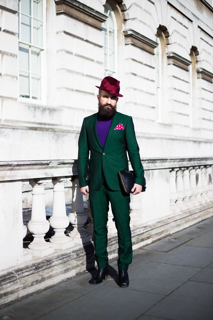 Street Style - Mikko Vainio, London Fashion Week