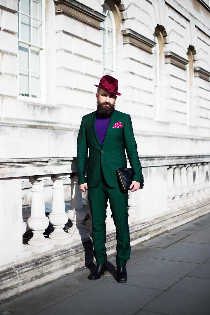 Street Style - Mikko Vainio, London Fashion Week