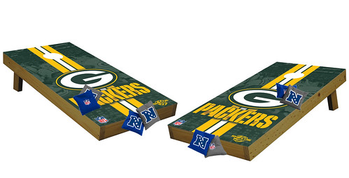 Green Bay Packers Premium Cornhole Boards