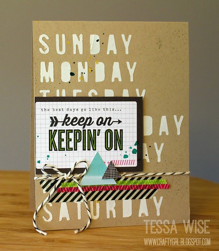 Keep On Card 1