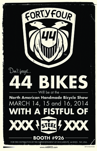 Don't forget that date by 44 Bikes