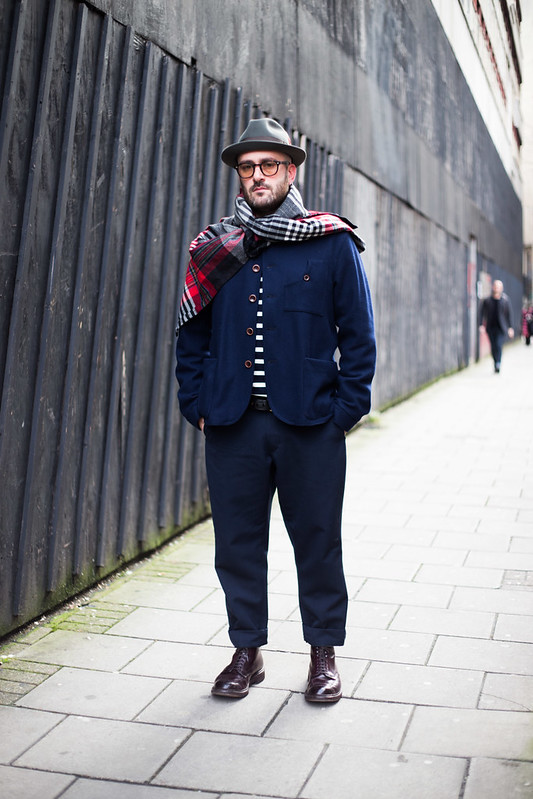 Street Style - Paul, London Collections: Men