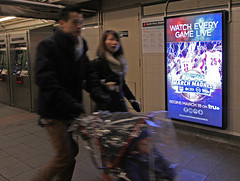 Subway Station Digital Screens