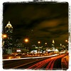 ATL BY NIGHT #atlanta #atl #georgia #GA #nightscape #nightshot #longexposure #I85