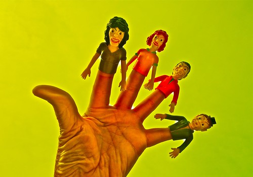 Over Processed Finger Puppets
