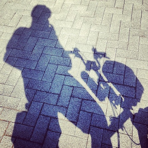 LBC Thames Bridges Ride 2014 #urban #lbclub #thames #bromptonbicycle  #shadow