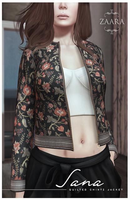 {Zaara} spring : Sana chintz jacket