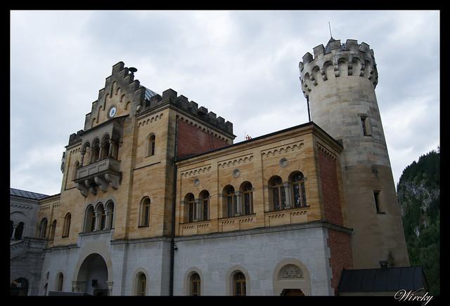 Entrada al castillo Schloss Neuschwanstein