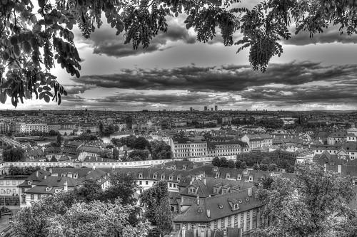 Praga dalla vita di Milan Kundera