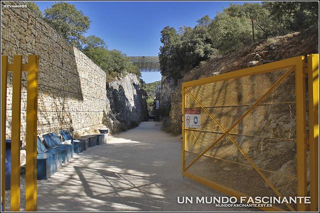 Entrada a los Yacimientos de Atapuerca