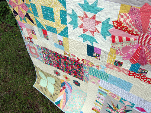 a bee quilt!