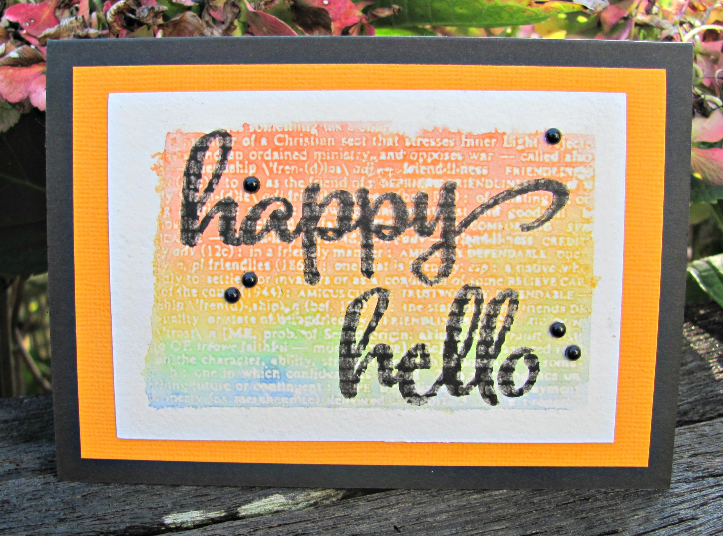 Happy Hello
