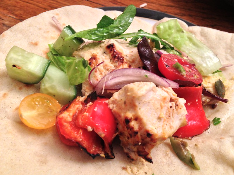 Chicken Taouk : Wrap