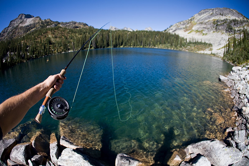 Fly Fishing in the Kootenay Rockies, British Columbia, Canada