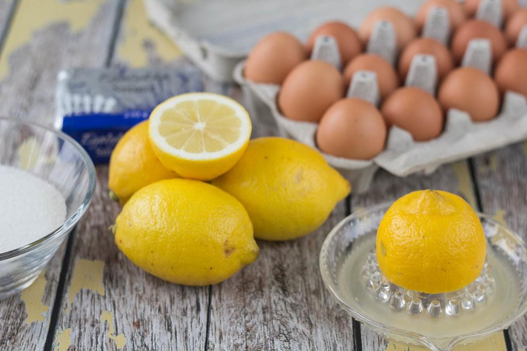 Recipe for Homemade Microwave Lemon Curd