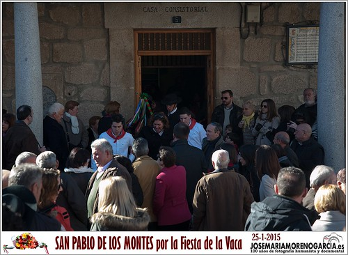 Fiesta de la Vaca de San Pablo de los Montes