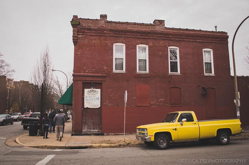 Buildings Cherokee Street Jasper's St. Louis