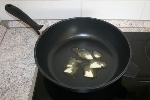 15 - Butterschmalz erhitzen / Melt ghee
