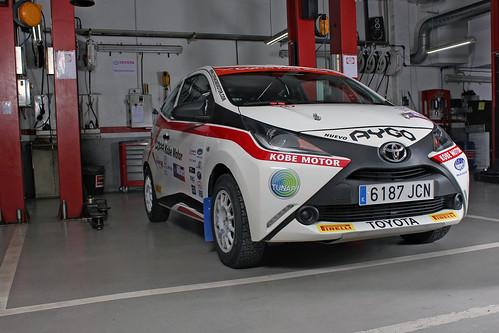 Toyota AYGO Copa Kobe Motor 2015