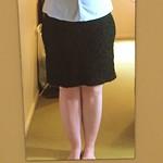 Crinkle Knit Skirt