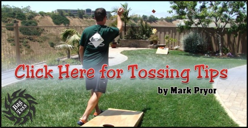 Bag Tossing tips with Mark Pryor