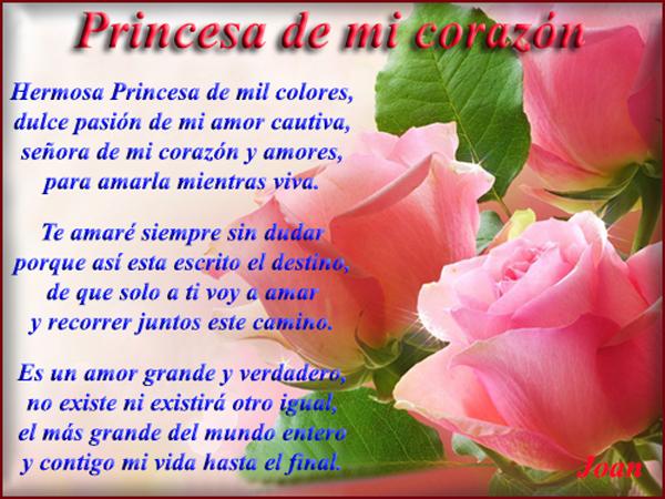 poemas de princesas
