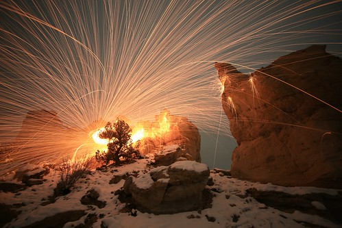 Rocks and sparks