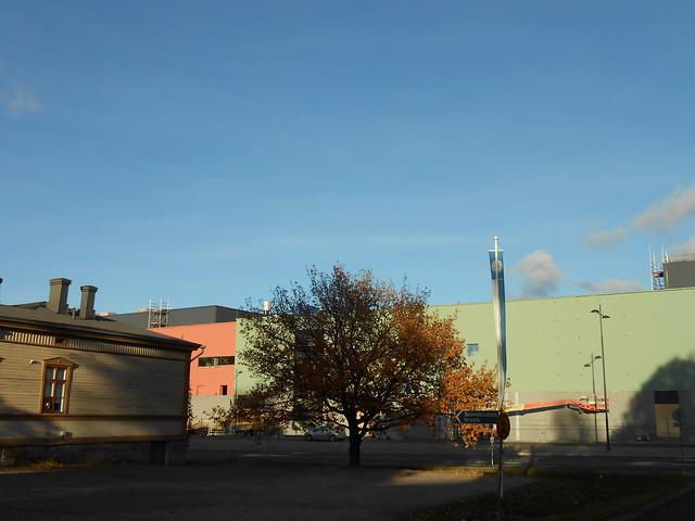 Hämeenlinnan moottoritiekate ja Goodman-kauppakeskus: Työmaatilanne 13.10.2013 - kuva 9