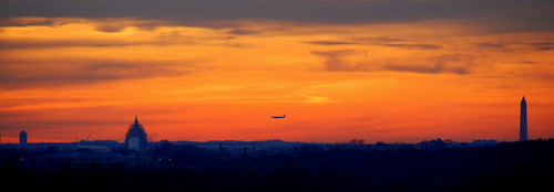 sunset washingtondc washingtonmonument pentagon unitedstatescapitol reagannationalairport forreal usairforcememorial cheverlymaryland sunsetoverwashington soocfromourdeck airtrafficcontroltoweratreagannationalairport sunsetwashingtondcfebruary72015