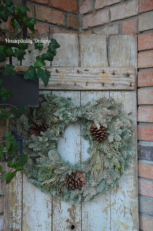 Upclyced Christmas Wreath-Housepitality Designs