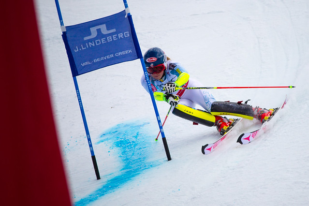 Mikaela Shiffrin at Worlds