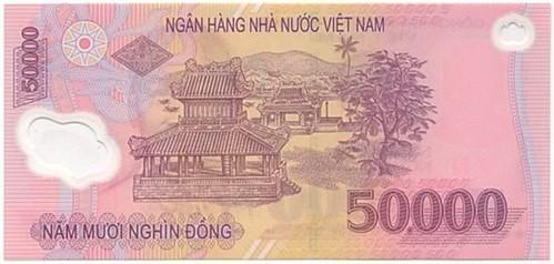 Vietnam 50,000 bill