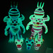 UV image of Awesome Toy 4 ARMS BAKURAs by AWESOME TOY